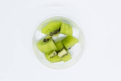 個食用パッケージ(キウィ)の写真