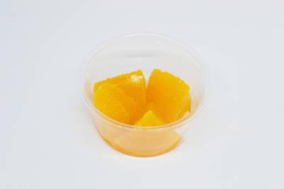 個食用パッケージ(オレンジ)の写真